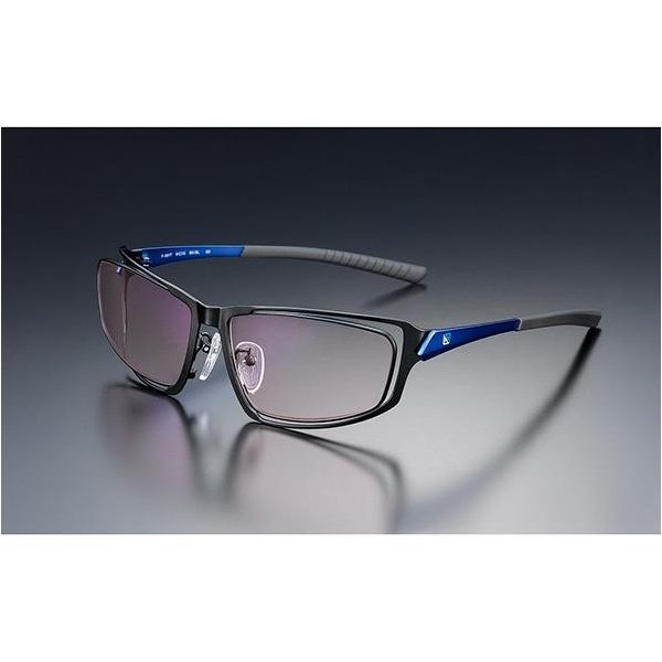 ニデック G-SQUAREアイウェア Professional Model フルリム C2FGEA6DBNP4985 フレーム:ブルー、レンズ:ワインレッドの画像