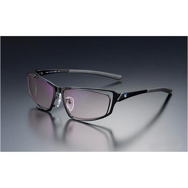 ニデック G-SQUAREアイウェア Professional Model フルリム C2FGEA6BLNP5029 フレーム:ブラック、レンズ:ワインレッドの画像