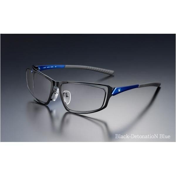 ニデック G-SQUAREアイウェア Professional Model フルリム C2FGEG6DBNP5586 フレーム:ブルー、レンズ:グレーの画像