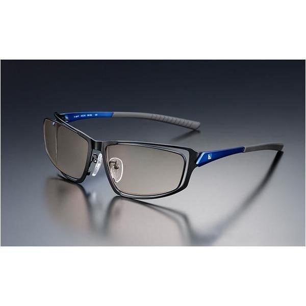 ニデック G-SQUAREアイウェア Professional Model フルリム C2FGEB6DBNP5593 フレーム:ブルー、レンズ:ブラウンの画像