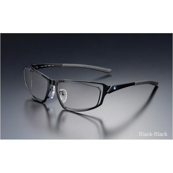 ニデック G-SQUAREアイウェア Professional Model フルリム C2FGEG6BLNP5623 フレーム:ブラック、レンズ:グレーの画像