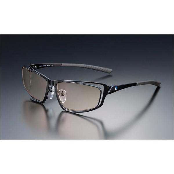 ニデック G-SQUAREアイウェア Professional Model フルリム C2FGEB6BLNP5630 フレーム:ブラック、レンズ:ブラウンの画像