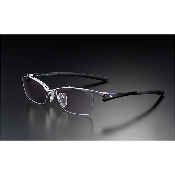 ニデック G-SQUAREアイウェア Professional Model ナイロール C2FGENWBLNP7061 フレーム:ブラック、レンズ:ワインレッドの画像