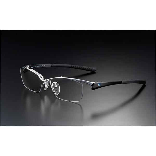 ニデック G-SQUAREアイウェア Professional Model ナイロール C2FGENGBLNP7108 フレーム:ブラック、レンズ:グレーの画像