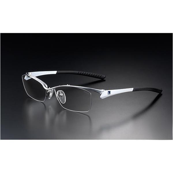 ニデック G-SQUAREアイウェア Professional Model ナイロール C2FGENGWHNP7139 フレーム:ホワイト、レンズ:グレーの画像