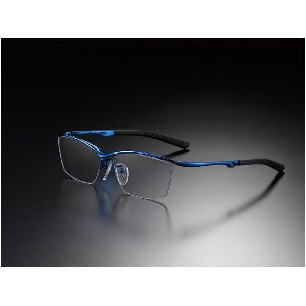 ニデック G-SQUAREアイウェア Casual Model ナイロール C2FGEN4BUNP8983 フレーム:ブルー、レンズ:グレーの画像