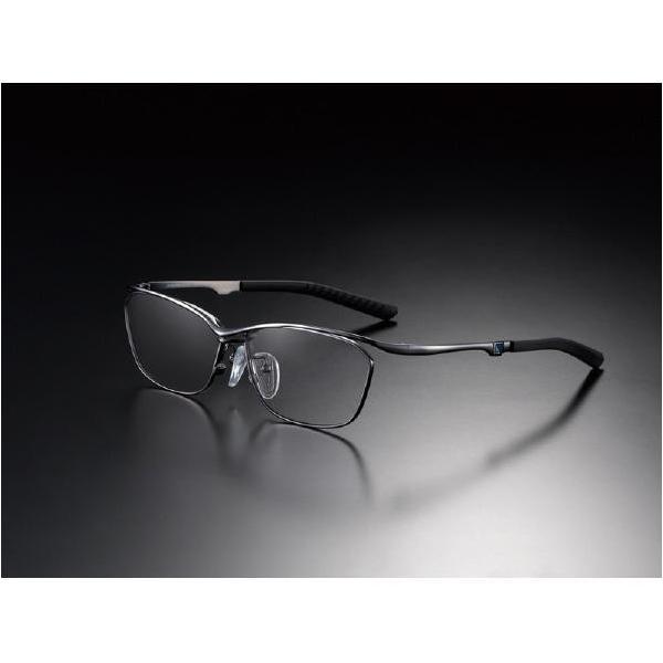 ニデック G-SQUAREアイウェア Casual Model フルリム C2FGEF4BLNP9195 フレーム:ブラック、レンズ:グレーの画像