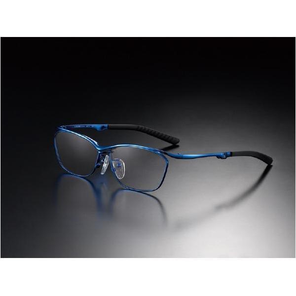 ニデック G-SQUAREアイウェア Casual Model フルリム C2FGEF4BUNP9225 フレーム:ブルー、レンズ:グレーの画像