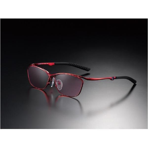 ニデック G-SQUAREアイウェア Casual Model フルリム C2FGEF4RENP9263 フレーム:レッド、レンズ:ワインレッドの画像
