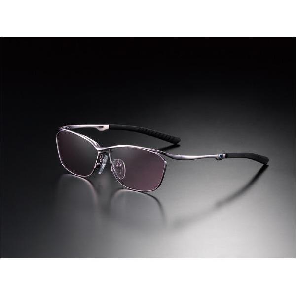 ニデック G-SQUAREアイウェア Casual Model フルリム C2FGEF4PKNP9294 フレーム:ピンク、レンズ:ワインレッドの画像