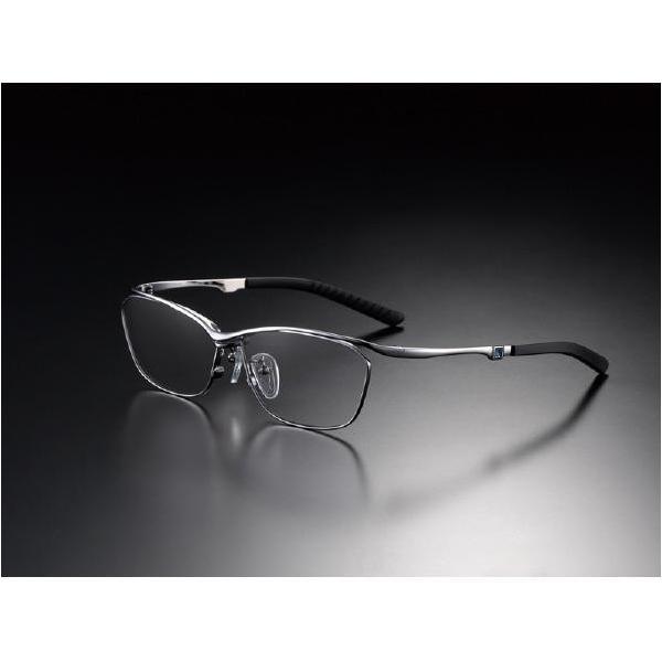 ニデック G-SQUAREアイウェア Casual Model フルリム C2FGEF4SVNP9317 フレーム:シルバー、レンズ:グレーの画像