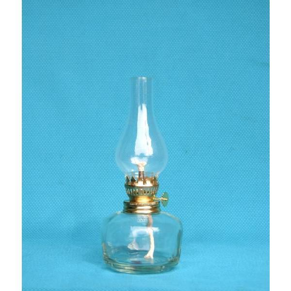 棒芯スタンドランプ らっきょL  23120  灯油ランプ