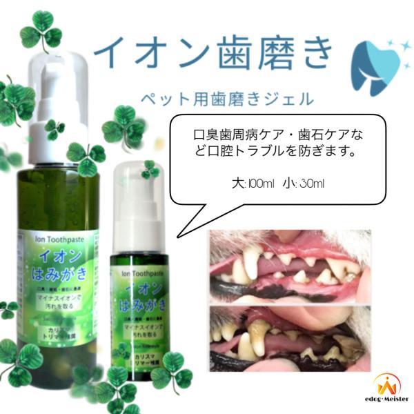 |イオン 犬 はみがき 無添加 塗るだけ簡単 犬デンタルケア 口臭 歯石 汚れ除去 嫌がらない 売れ…