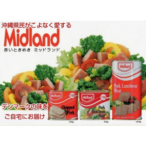 送料無料 ポークランチョンミート♪ミッドランド缶詰 5缶セット 2セット以上でオマケ付き!|缶詰||edoya13|06