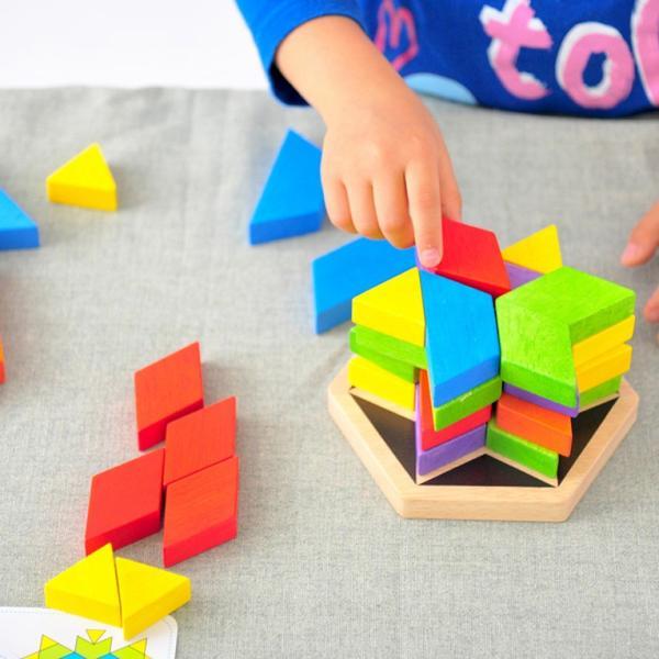 3歳 4歳 誕生日プレゼント 男 女 木のおもちゃ 知育玩具 知育 おもちゃ パズル|edute|13