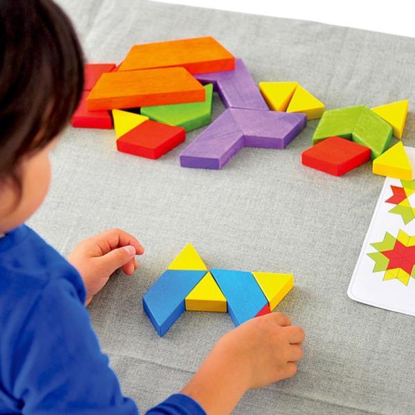 3歳 4歳 誕生日プレゼント 男 女 木のおもちゃ 知育玩具 知育 おもちゃ パズル|edute|15