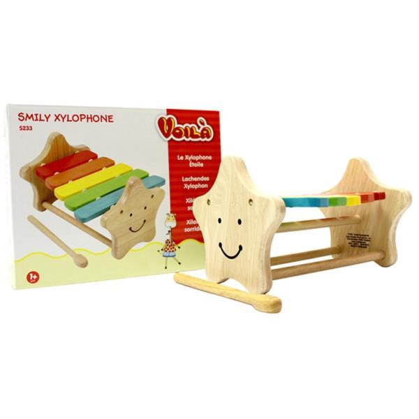 1歳 2歳 誕生日プレゼント 男 女 音が出る 知育玩具 木のおもちゃ 木 おもちゃ 木製 木琴 楽器玩具 スマイリーシロフォン VOILA ボイラ|edute|12