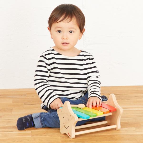1歳 2歳 誕生日プレゼント 男 女 音が出る 知育玩具 木のおもちゃ 木 おもちゃ 木製 木琴 楽器玩具 スマイリーシロフォン VOILA ボイラ|edute|14