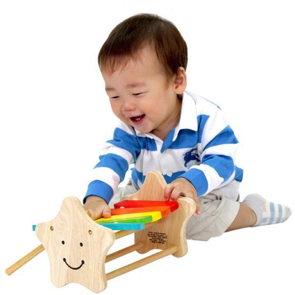 1歳 2歳 誕生日プレゼント 男 女 音が出る 知育玩具 木のおもちゃ 木 おもちゃ 木製 木琴 楽器玩具 スマイリーシロフォン VOILA ボイラ|edute|07