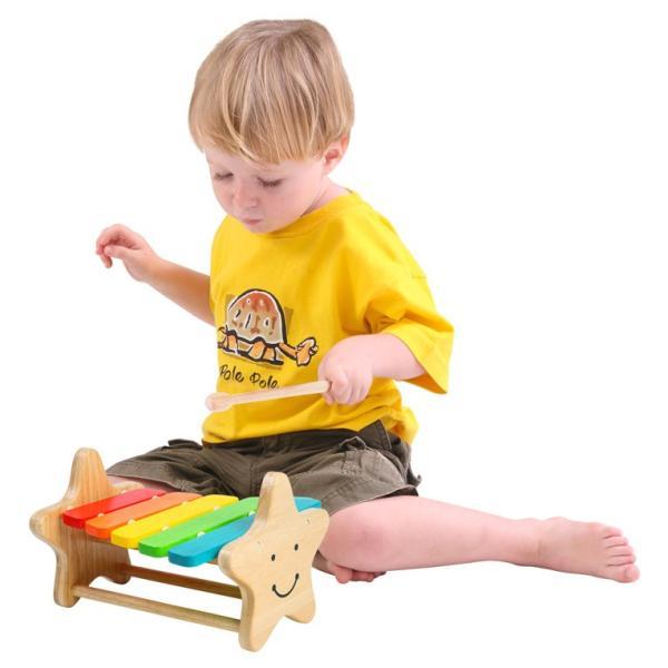 1歳 2歳 誕生日プレゼント 男 女 音が出る 知育玩具 木のおもちゃ 木 おもちゃ 木製 木琴 楽器玩具 スマイリーシロフォン VOILA ボイラ|edute|08