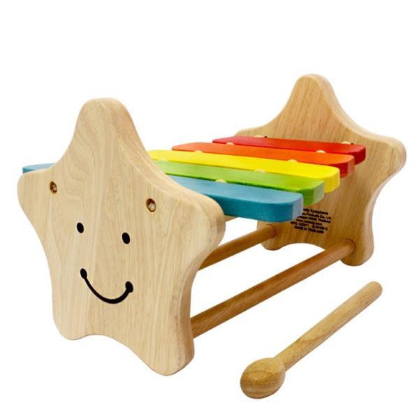 1歳 2歳 誕生日プレゼント 男 女 音が出る 知育玩具 木のおもちゃ 木 おもちゃ 木製 木琴 楽器玩具 スマイリーシロフォン VOILA ボイラ|edute|09