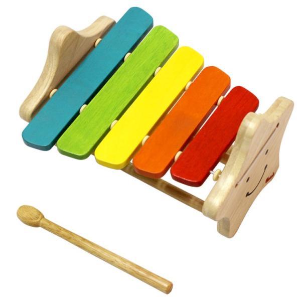 1歳 2歳 誕生日プレゼント 男 女 音が出る 知育玩具 木のおもちゃ 木 おもちゃ 木製 木琴 楽器玩具 スマイリーシロフォン VOILA ボイラ|edute|10