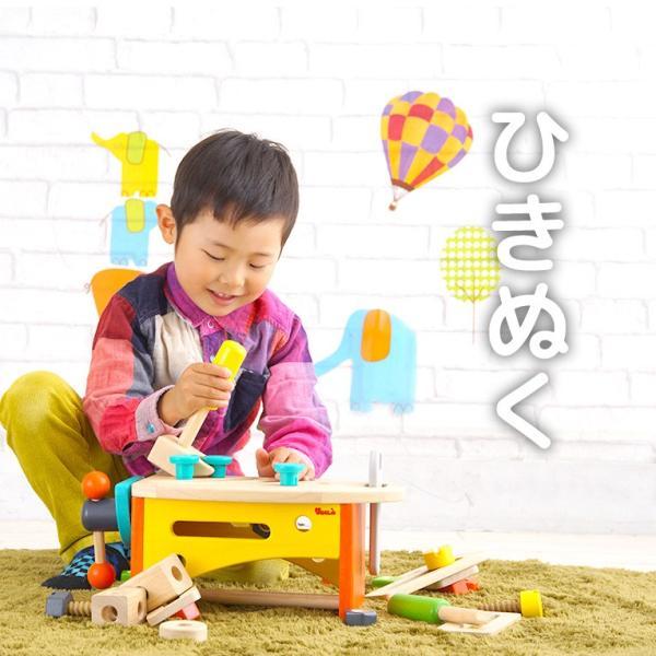 3歳 4歳 誕生日プレゼント 大工さん おもちゃ 大工 木製  大工セット 工具 ツールボックス VOILA ボイラ|edute|14