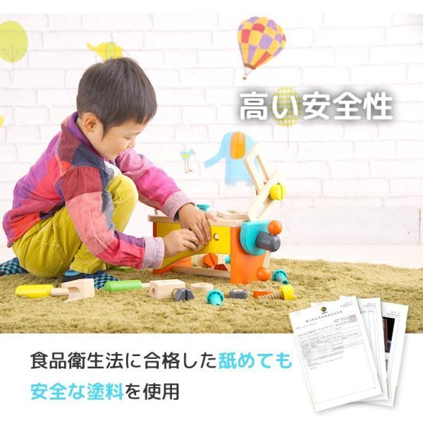 3歳 4歳 誕生日プレゼント 大工さん おもちゃ 大工 木製  大工セット 工具 ツールボックス VOILA ボイラ|edute|09
