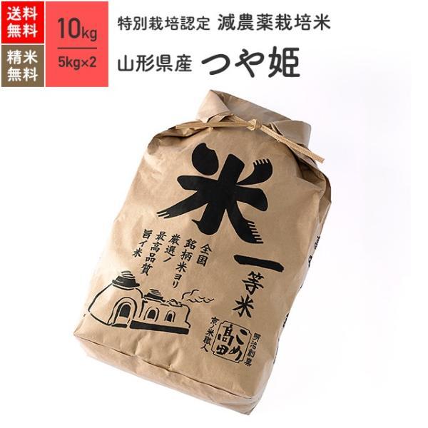 米 お米 10kg つや姫 山形県産 特別栽培米 令和3年産
