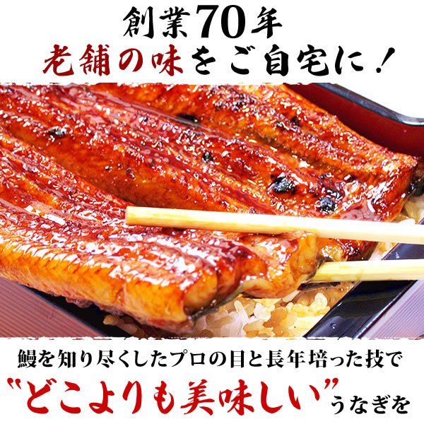 お取り寄せ ごはんのお供 お祝いギフトお試し うなぎ 蒲焼き 国産 ウナギ 簡易箱 pon-2|eel-tanaka|04