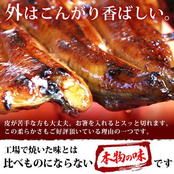 お取り寄せ ごはんのお供 お祝いギフトお試し うなぎ 蒲焼き 国産 ウナギ 簡易箱 pon-2|eel-tanaka|06