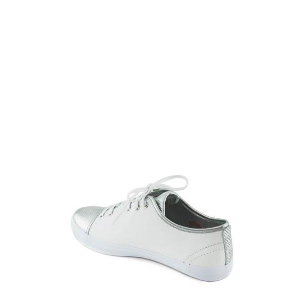 マークジョセフ MARC JOSEPH NEW YORK レディース スニーカー シューズ・靴 Bleecker Street Sneaker White/ Gipsy Silver Leather