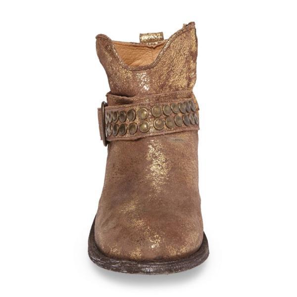 ファイブワールド FIVE WORLDS レディース ブーツ シューズ・靴 Serene Western Boot Copper Leather