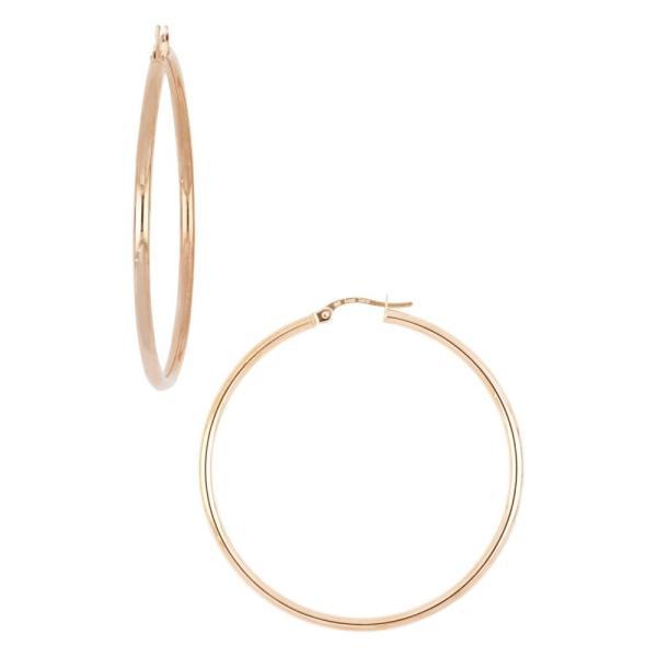 ボニー レヴィ BONY LEVY レディース イヤリング・ピアス ジュエリー・アクセサリー 14k Gold Hoop Earrings, 45mm