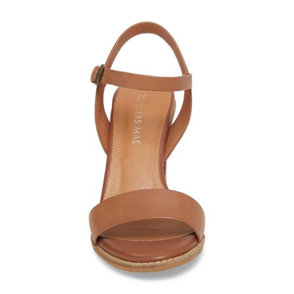 エイリアス メイ ALIAS MAE レディース サンダル・ミュール シューズ・靴 Era Sandal Tan Leather