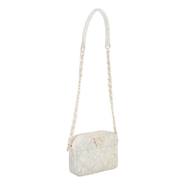 ケリーウィン KELLY WYNNE レディース ショルダーバッグ バッグ Mingle Mingle Mini Embossed Leather Crossbody Bag Bread Wynner