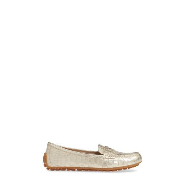 ボーン BORN レディース ローファー・オックスフォード シューズ・靴 Malena Driving Loafer Gold Embossed Leather