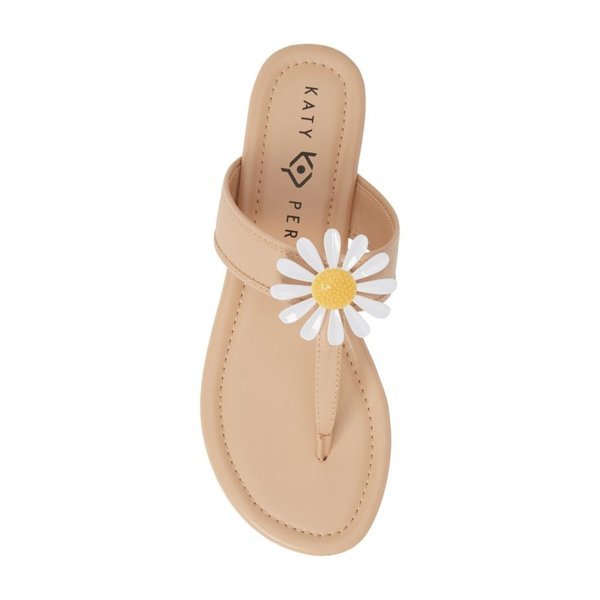ケイティ ペリー KATY PERRY レディース ビーチサンダル シューズ・靴 Forget Me Knot Floral Flip Flop New Nude