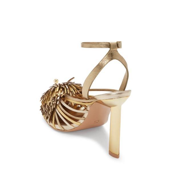 メルセデス カステロ MERCEDES CASTILLO レディース サンダル・ミュール シューズ・靴 Ilma Ankle Strap Sandal Core Gold
