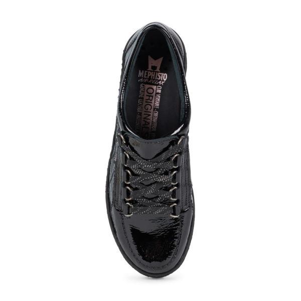 メフィスト MEPHISTO レディース スニーカー シューズ・靴 Lady Low Top Sneaker Black Patent