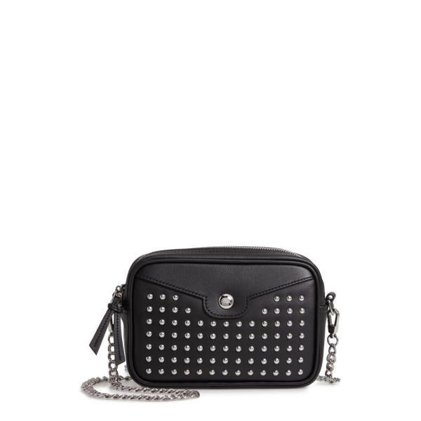 ロンシャン LONGCHAMP レディース バッグ Mademoiselle Studded Leather Camera Bag Black