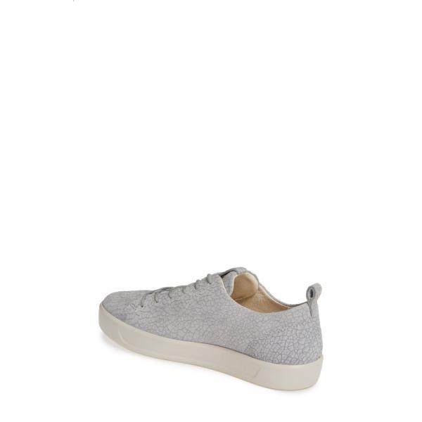 エコー ECCO レディース スニーカー シューズ・靴 Soft 8 Sneaker Wild Dove Grey/ Grey Leather
