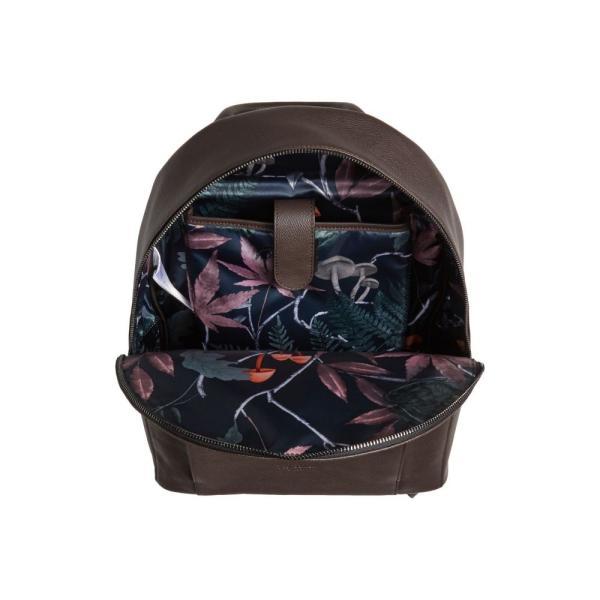 テッドベーカー TED BAKER LONDON メンズ パソコンバッグ バッグ Eastmo Leather Backpack Chocolate