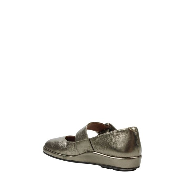 ラモールドピード L'AMOUR DES PIEDS レディース スリッポン・フラット シューズ・靴 Cathenne Mary Jane Hematite Metallic Leather