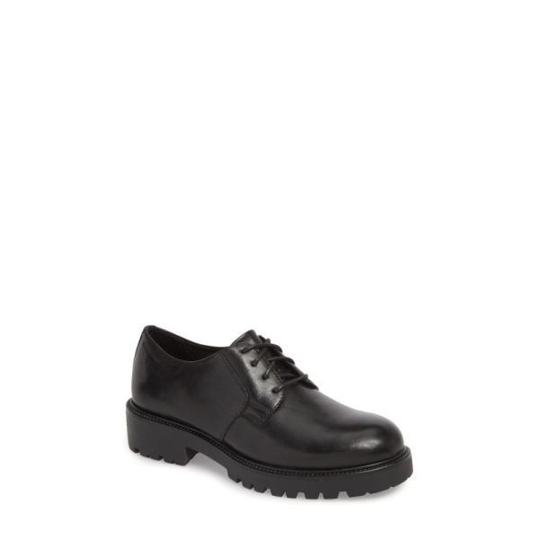 バガボンド VAGABOND レディース ローファー・オックスフォード シューズ・靴 Shoemakers Kenova Lace-Up Oxford Black Leather