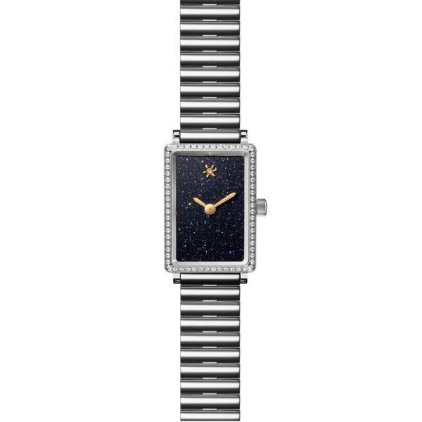 ゴメルスキー GOMELSKY レディース 腕時計 The Shirley Fromer Diamond Bracelet Watch, 18mm x 26mm Silver/ Sandstone
