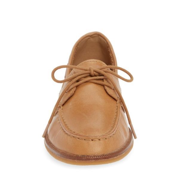 スペリー SPERRY レディース ローファー・オックスフォード シューズ・靴 Seaport Loafer Light Peanut Leather