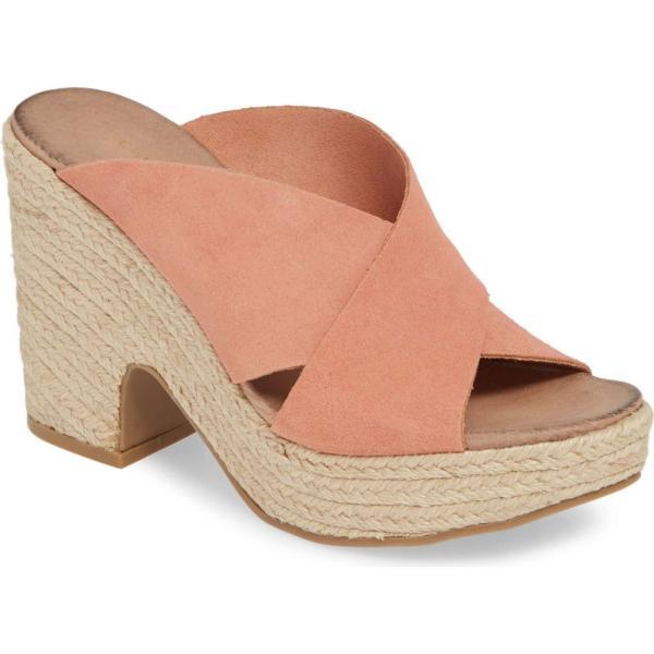 チャイニーズランドリー CHINESE LAUNDRY レディース エスパドリーユ シューズ・靴 Quay Platform Sandal Clay Suede