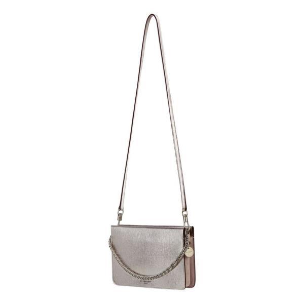 ジバンシー GIVENCHY レディース ショルダーバッグ バッグ Cross 3 Leather Crossbody Bag Silver/ Natural