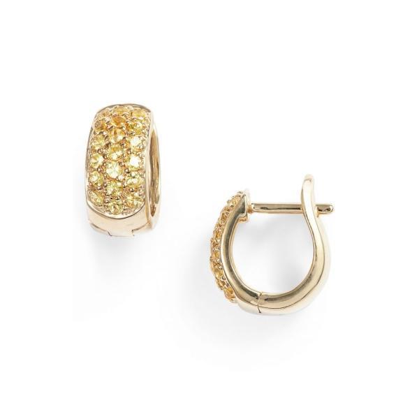 ダナ レベッカ デザイン DANA REBECCA DESIGNS レディース イヤリング・ピアス ジュエリー・アクセサリー Wide Gem Huggie Earrings